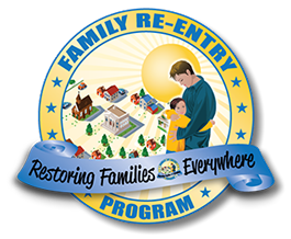 Beyond Left Field Graphic Design Print Design Family Reentry Logo