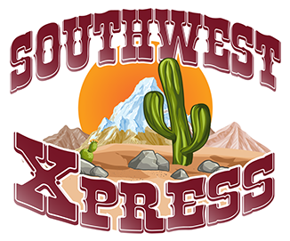 Beyond Left Field Graphic Design Print Design Southwest Xpress Logo 01